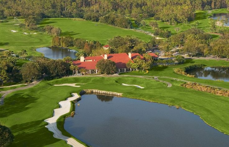 One of the Grand Cypress Gold Club's four Jack Nicklaus Signature Design golf courses at Hyatt Regency Grand Cypress.