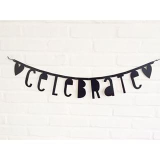 #Wordbanner #tip: Celebrate - Buy it at www.vanmariel.nl - € 11,95