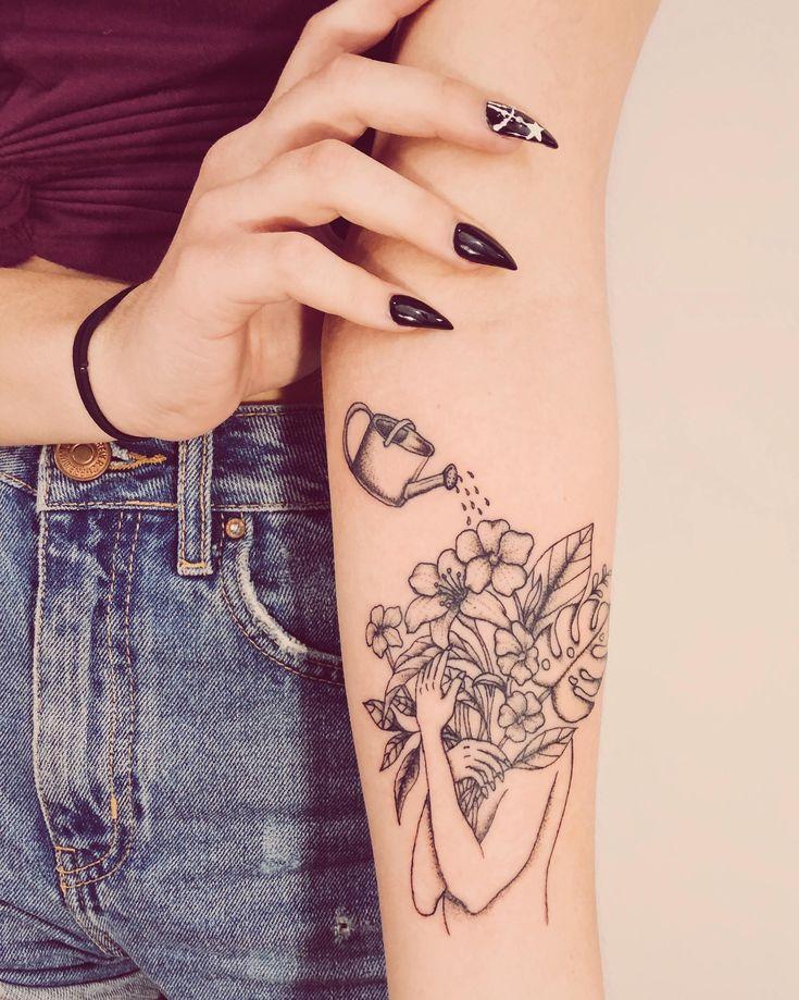 Kleines Stück über Selbstpflege, das ich gerade gemacht hatte! Bed of Roses Tattoo-Geschäft in T …   – Tattoos