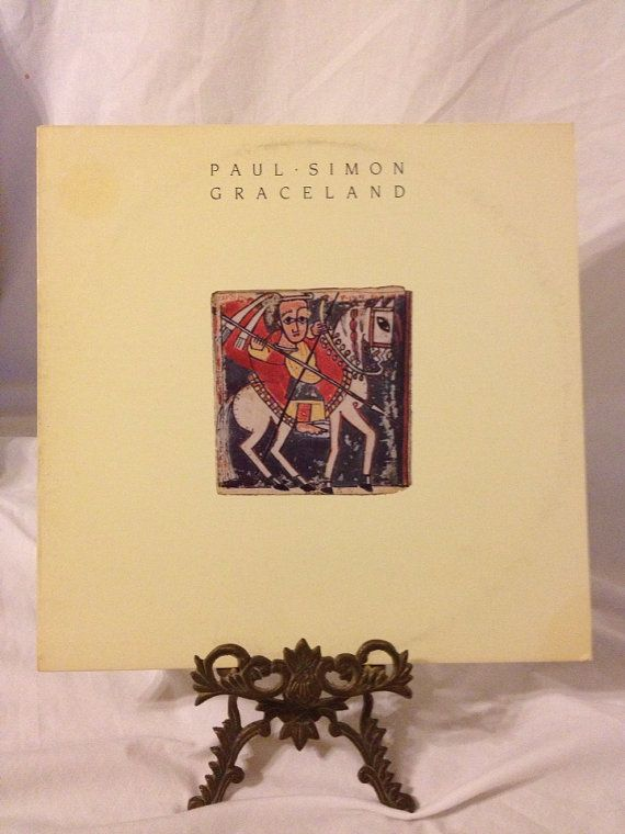 Vintage Record Paul Simon Graceland Album 25447 by FloridaFinders, $8.00