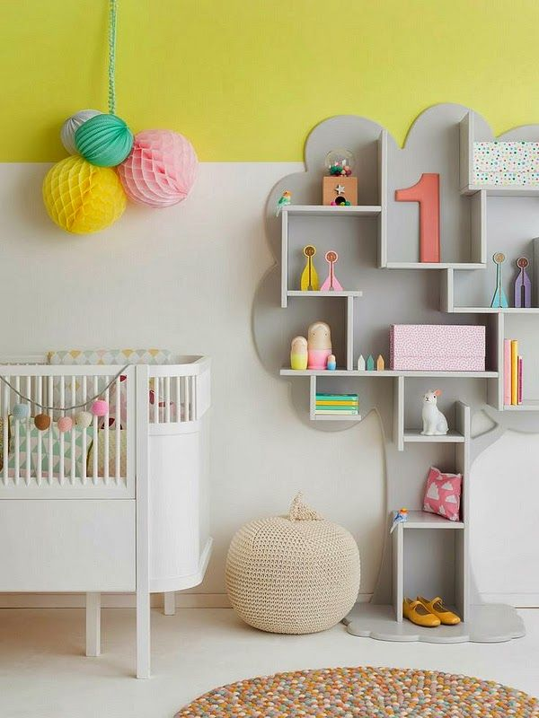 children's room ideas ...the bookcase is amazing what a great idea and so many ways to use it or paint it up....great job!