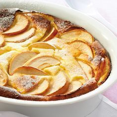 Léger de pommes au fromage blanc Recette   Weight Watchers