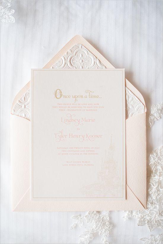 Best 25 Disney wedding invitations ideas – Disney Fairytale Wedding Invitations