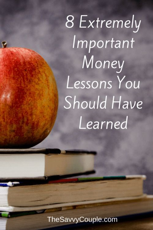 Money lessons EVERYONE should have learned in school. As a teacher I find it troubling that so many lessons about money are overlooked. This is our savvy list of money lessons you should have learned in school.