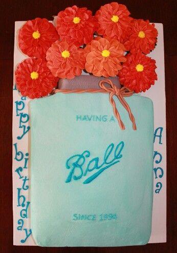Mason jar shaped cake | Sweet Caroline's Cakes Kings ...