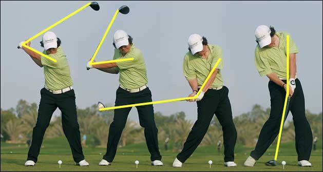 beginner golf swing instruction