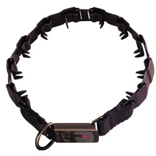 "Herm Sprenger Neck Tech Training Collar Black 24"""