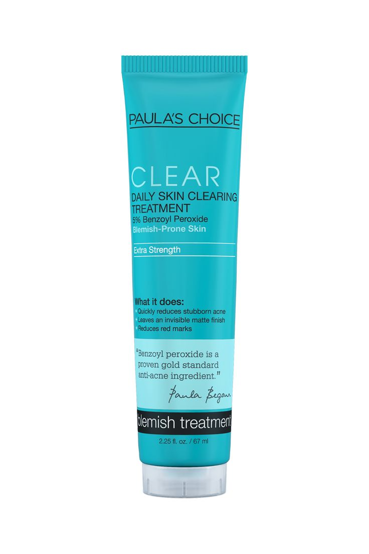CLEAR Extra Strength Treatment with 5% Benzoyl Peroxide - CLEAR Blemish Control: Paula's Choice Skincare  Cosmetics