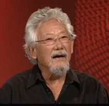 David Suzuki bombs on Q&A, knows nothing about the climate