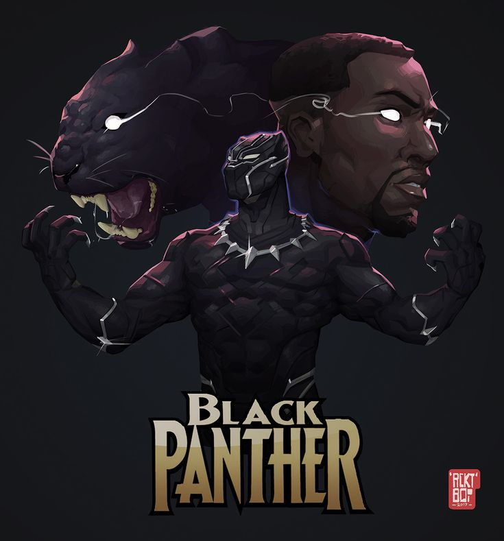 Got super hyped from watching the Marvel Black Panther movie trailer over the weekend so decided to paint up a tribute to the character.