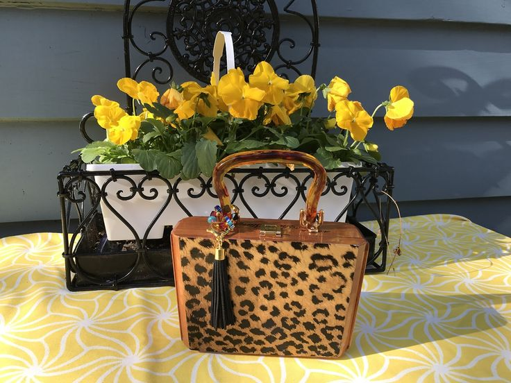 Luxury Purses - Social Conscience - Giving Back - NEW 2017 classic short story Leopard
