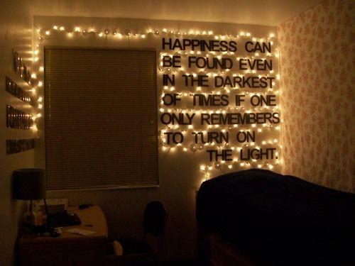 Dorm Room Deco No Fairy Lights