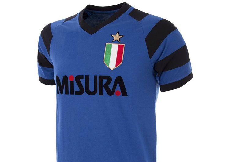 #football #soccer #futbol #intermilan Internazionale 1989-90 Copa Retro Football Shirt