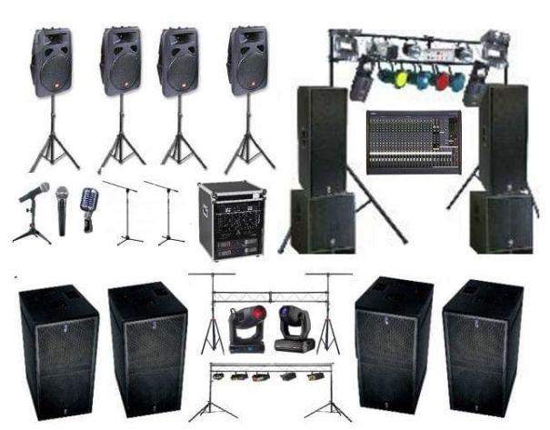 #Alquiler de #Equipos de #sonido completos Alquiler de equipos de sonido y iluminación, para todo tipo de eventos (discoteca móvil, actuaciones en directo, conferencias, fiestas de cumpleaños, bodas, comuniones, despedidas, etc).