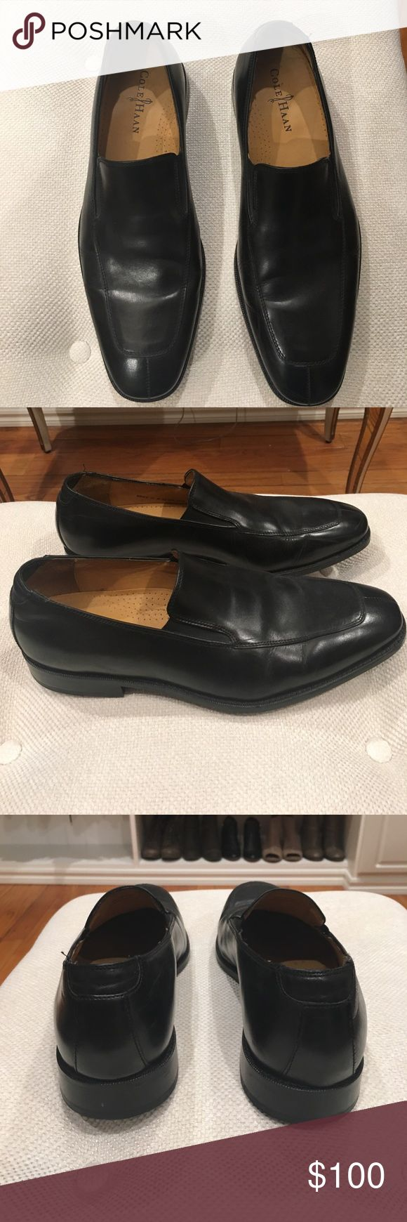 Cole Haan men's size dress shoes Cole Haan men's dress shoe in black size 11 M. Worn twice in very good condition. Cole Haan Shoes