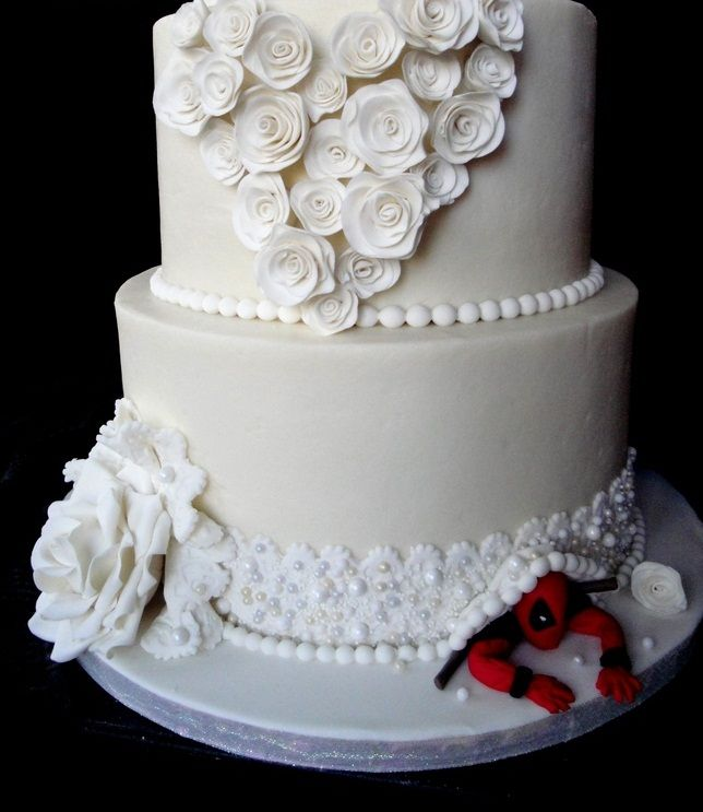Deadpool wedding cake, neat!