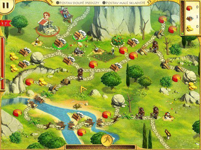 12 úkolů pro Herkula - screenshot ze hry 2 #hra #hry