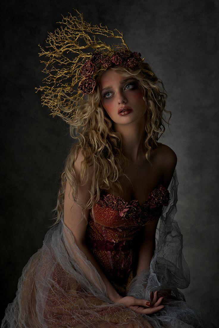 Photographer/Wardrobe/Makeup: Agnieszka Jopkiewicz Model: Dana Mostek