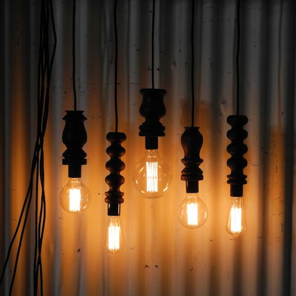 DAILY IMPRINT | Interviews on creative living: designer lights light bulbs designer Felix Allen image courtesy of Felix Allen