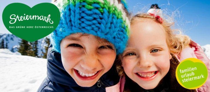 Über Pisten flitzen, mit dem Schlitten sausen oder Schneemänner bauen...  19 Familienhotels verwöhnen mit Kinderbetreuung, geschützten Spielräumen und eigenen Kindermenüs. Skikindergärten und Hauslifte direkt vor der Haustüre machen die ersten Meter auf dem Schnee kinderleicht und den Skitag für die Eltern entspannt.  Mehr auf www.austria.at/steiermark