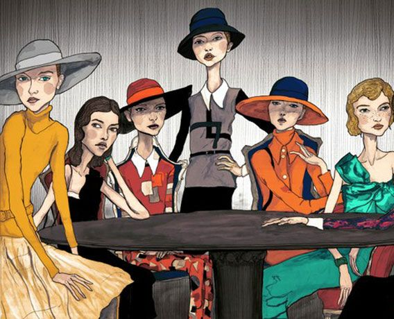 Danny Roberts Fashion Illustrator
