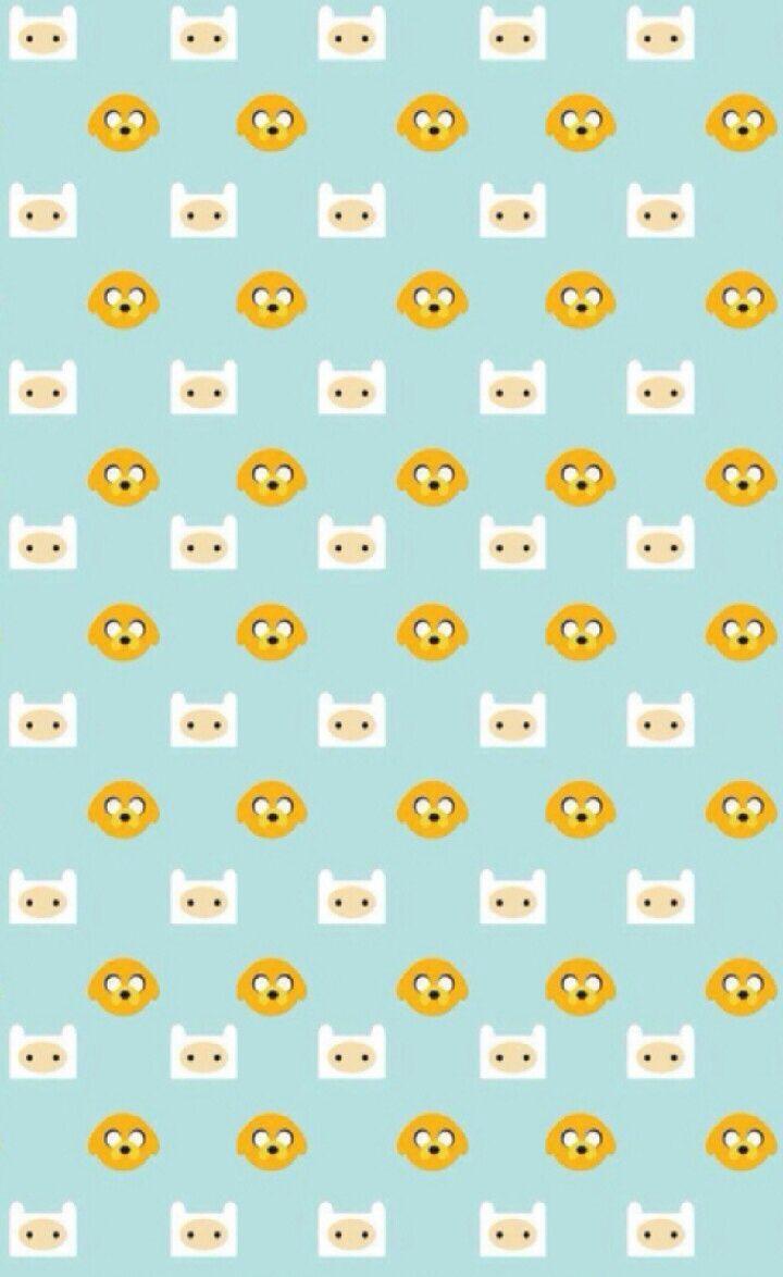 Children's Spaces   Patterns for Babies   Art Print   Illustration   Poster   Decoração Infantil   Padronagem para Bebês   Ilustração para Impressão Adventure Time iPhone 5 Wallpaper