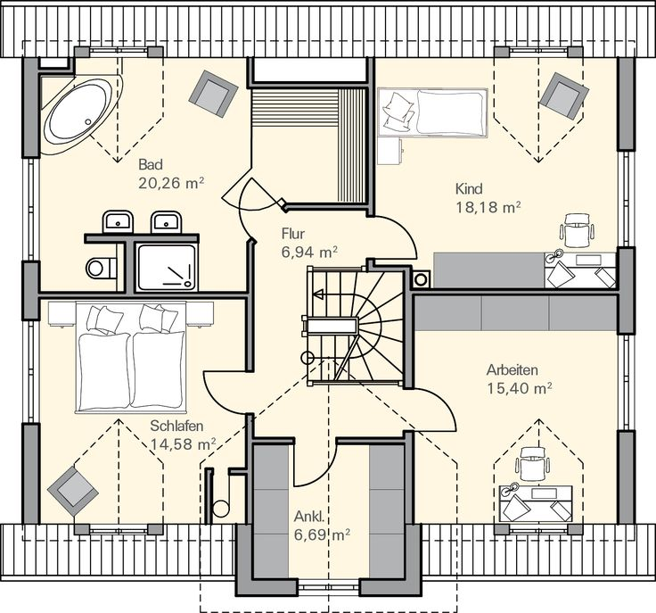 1000+ images about Haus Planung on Pinterest Modern house plans