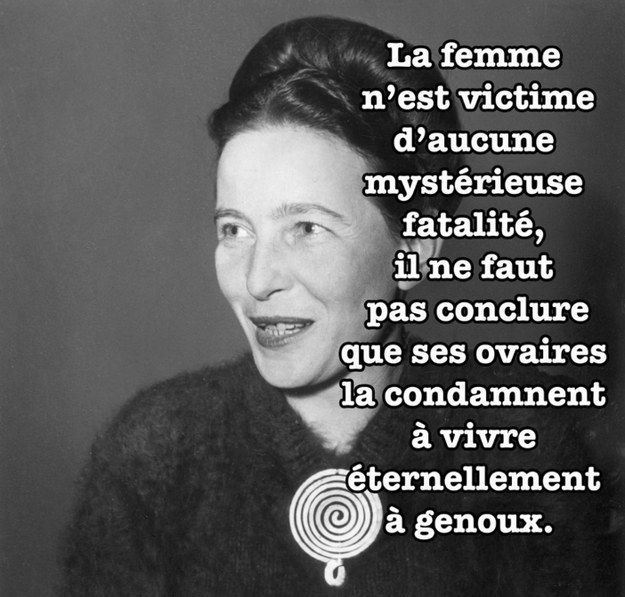 les meilleures citations de simone de beauvoir affiche simone de beauvoir et salons. Black Bedroom Furniture Sets. Home Design Ideas