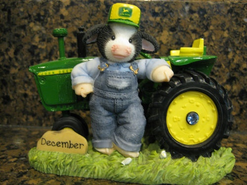 John Deere Moos Of The Month December Birth Stone Mary's Moo Moos. I of course have the January one :)