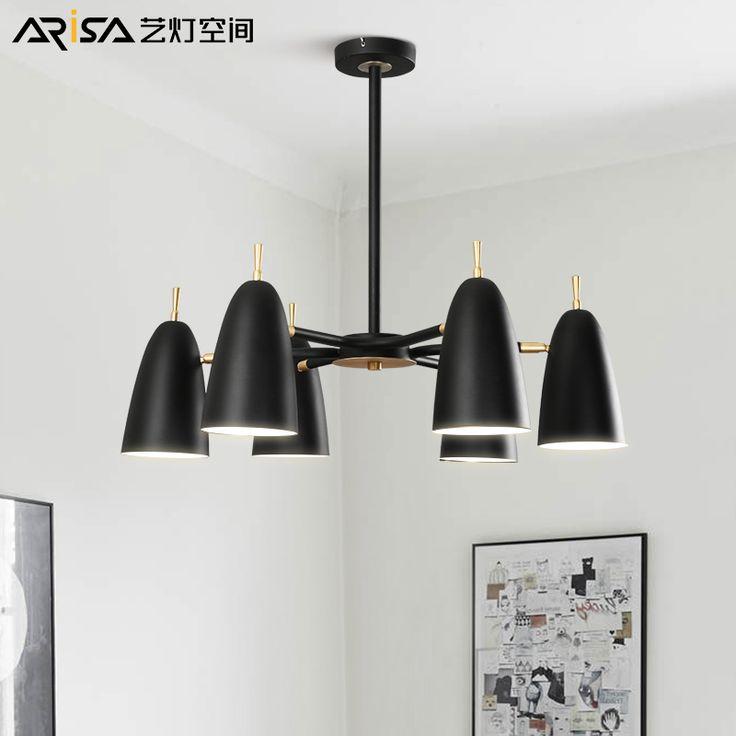 LED Nordic Modern hanging lights creative Fixtures lighting Novelty living room chandelier bedroom restaurant chandeliers. Yesterday's price: US $364.50 (300.09 EUR). Today's price: US $364.50 (300.09 EUR). Discount: 19%.