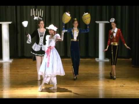 Beauty and the  Beast Ballet 2 of 2 - YouTube