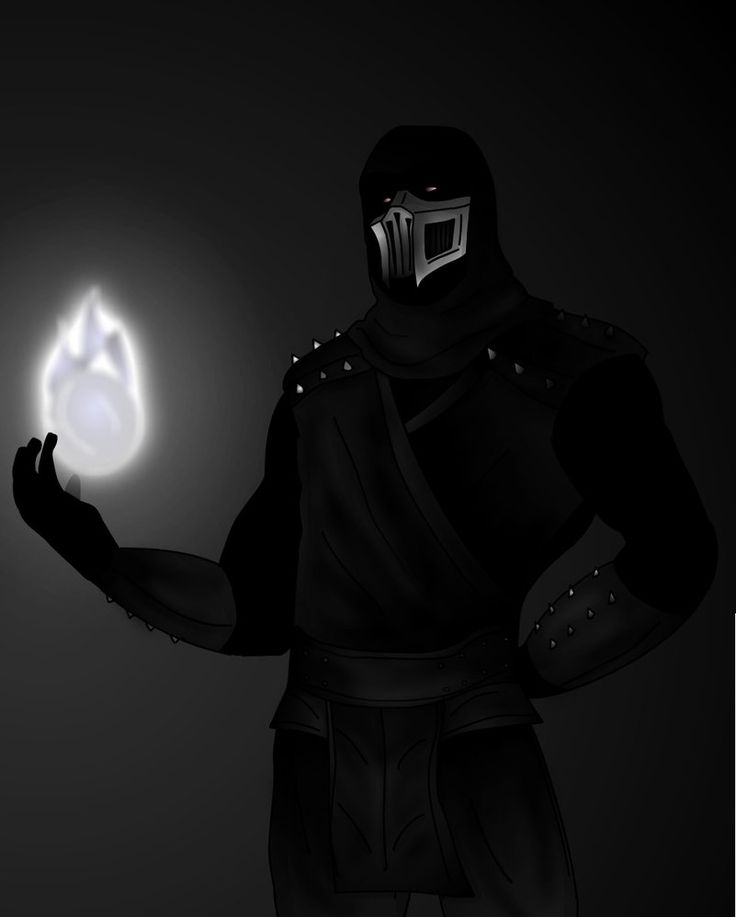 noob saibot | Noob Saibot by claude4ev3r on deviantART