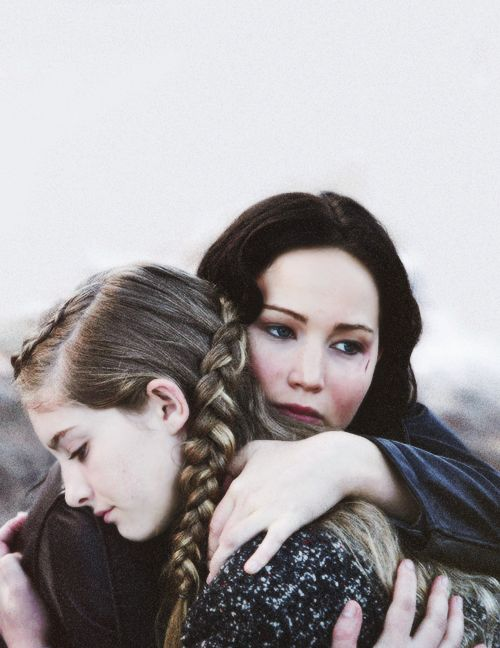 prim and katniss relationship with