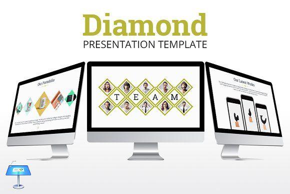 Diamond - Keynote Template by inspirasign on @creativemarket