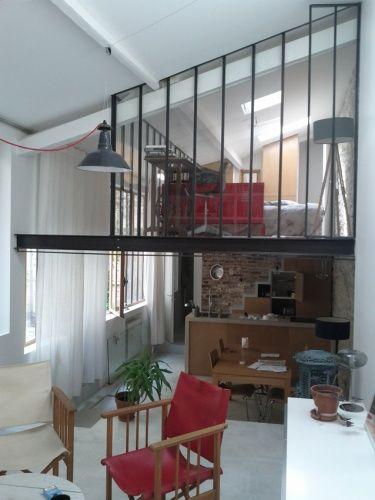 Mezzanine sous verre 1