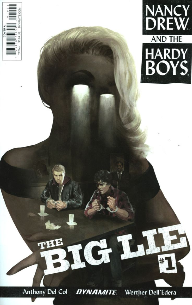 Nancy Drew and the Hardy Boys: The Big Lie #1 (Issue)