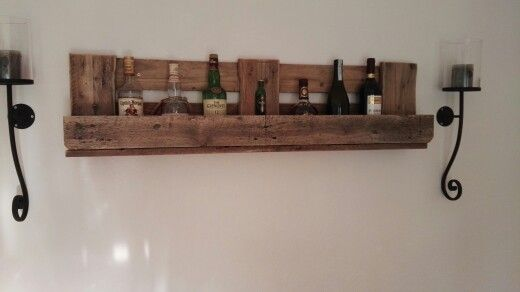 weinregal whisky regal m bel mit oder aus europaletten pinterest. Black Bedroom Furniture Sets. Home Design Ideas