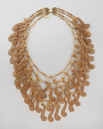 Vintage Layered Necklace by Oscar de la Renta at Neiman Marcus.