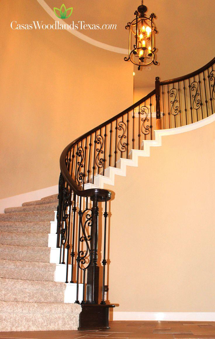 Escaleras con barandal #Casas #Decoración #Hogar