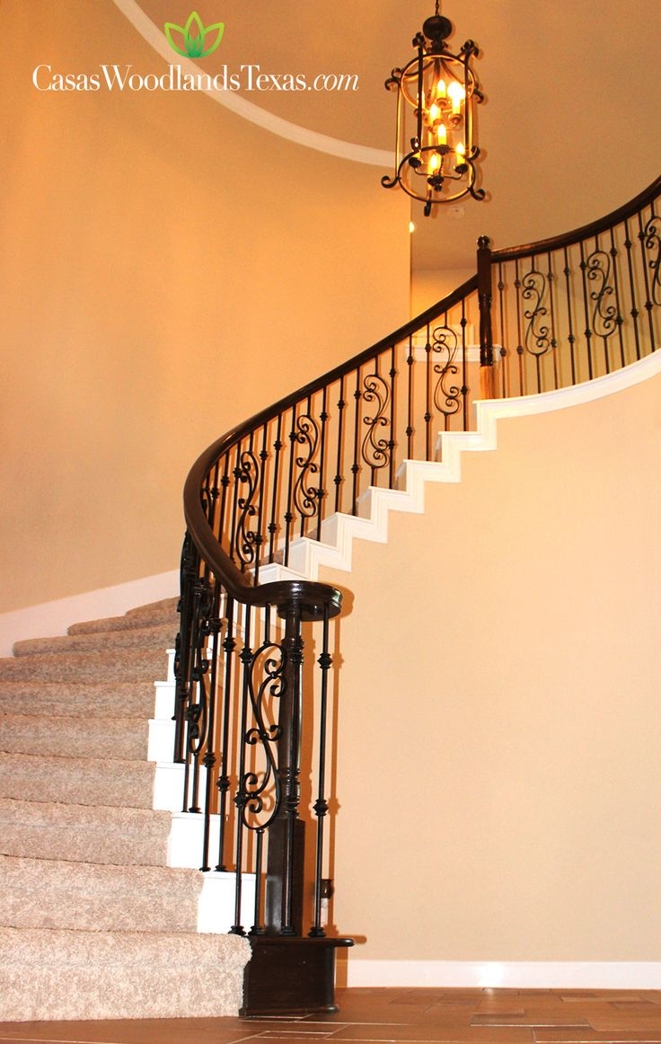 Escaleras con barandal casas decoraci n hogar - Decoracion de intriores ...