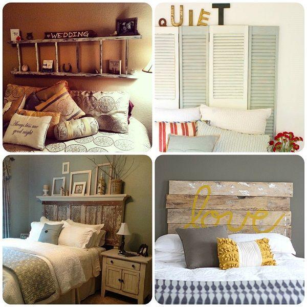 Raccolta idee testiere per letto fai da te #faidate