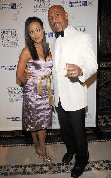 Robin Givens and Montel Williams /MS Foundation Gala 2008