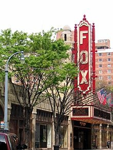 The Fox Theatre in Atlanta, Georgia - saw Gone with the Wind here in 1974 and R.E.M. here in 1987