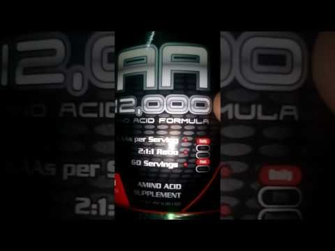 Unboxing ultimate nutrition BCAA FROM XPRESSHOP.COM - YouTube
