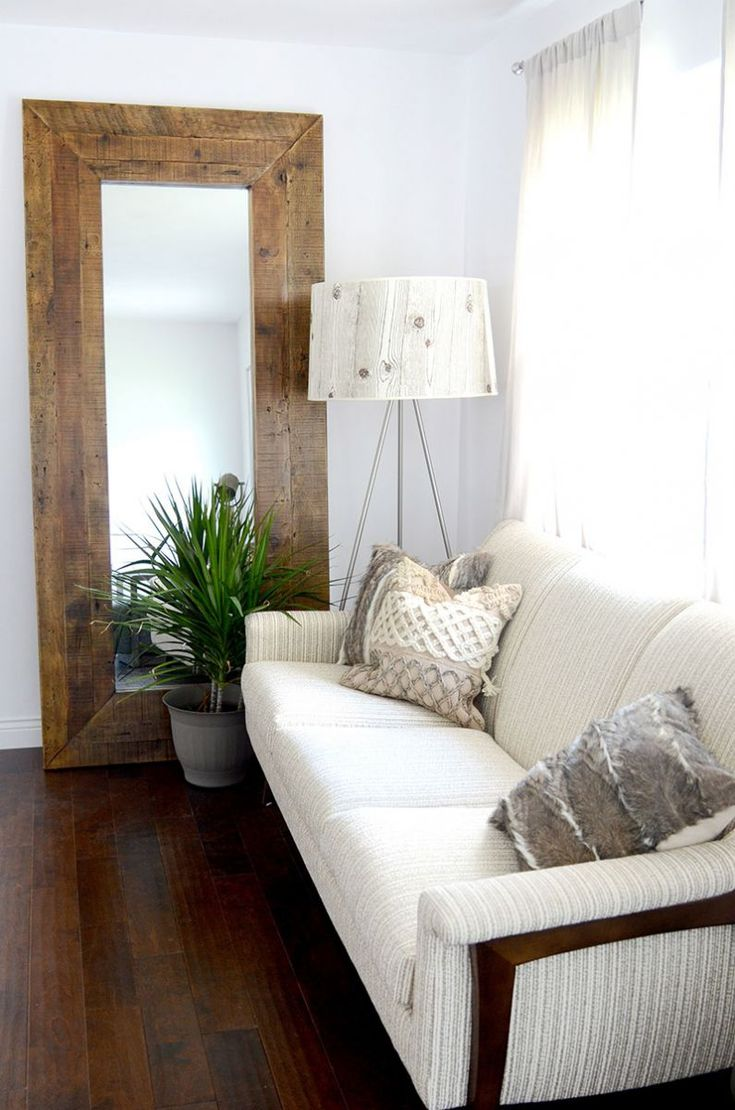 What Flipping A House Is Really Like #theeverygirl · Leaning MirrorTall  MirrorLarge MirrorsBig Living RoomsLiving ...