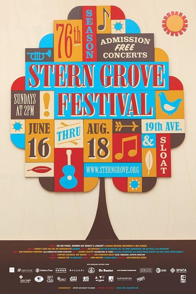 Stern Grove Festival poster - Recherche Google