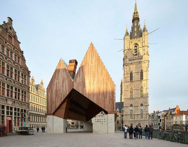 Market Hall, Belgium