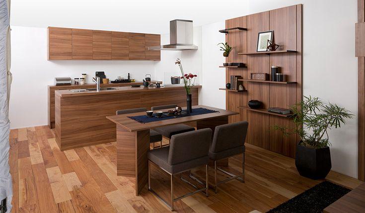 高級キッチン グラフテクト   サンキューホーム 新築一戸建て注文住宅