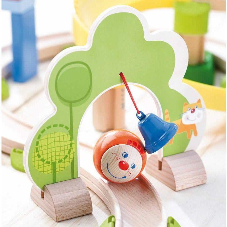 HABA Ball Track Rollerby Spiral Track #toys2learn#haba#preschool#educational#toys#Australia#ballrun
