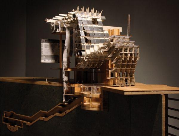 Jie Shen sculpture miniature designboom architecture